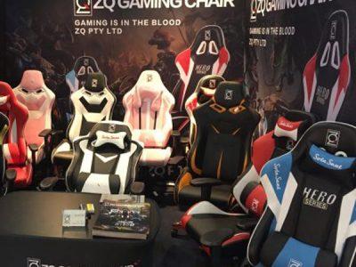 ZQ Gaming Chairs (ZQRacing) at AIFF 2016