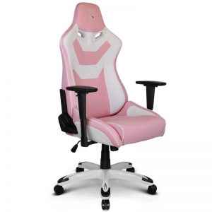 High Quality ZQRacing Viper Series Gaming Office Chair Pink/White
