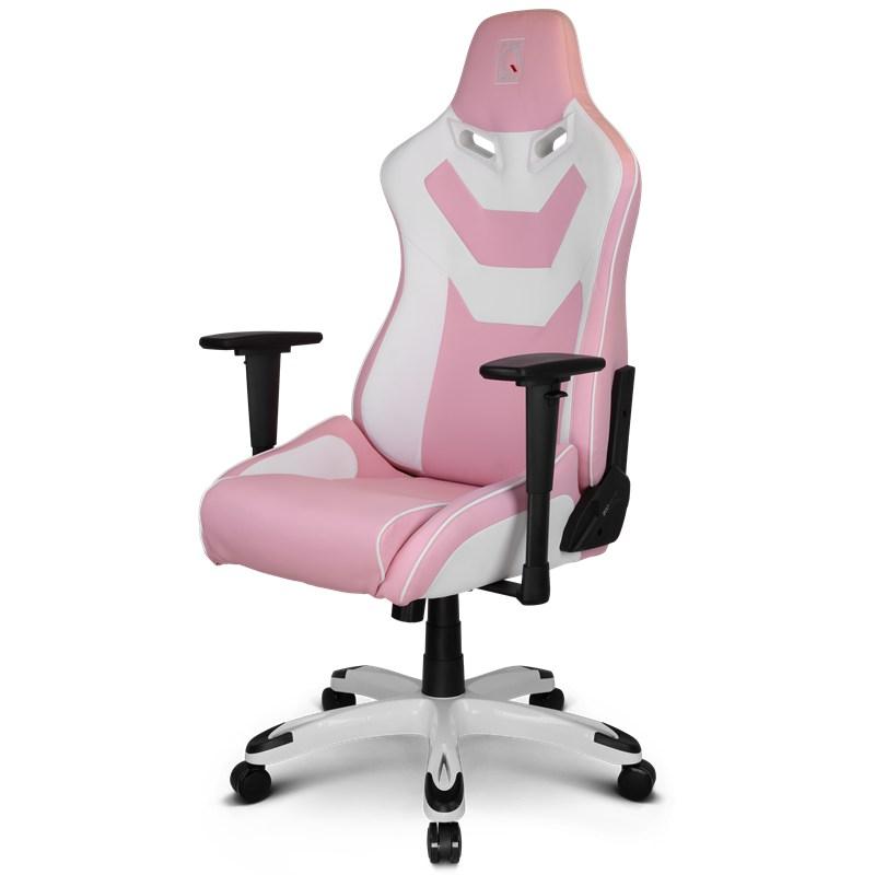 Homeu003eGaming Chairsu003eUnique Colour U0026 Stylesu003eViper Seriesu003eZQRacing Viper  Series Gaming Office Chair Pink/White