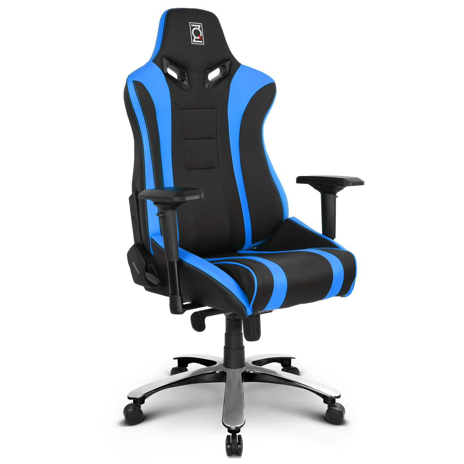 ZQRacing Alien XL Series Gaming fice Chair Blue Black
