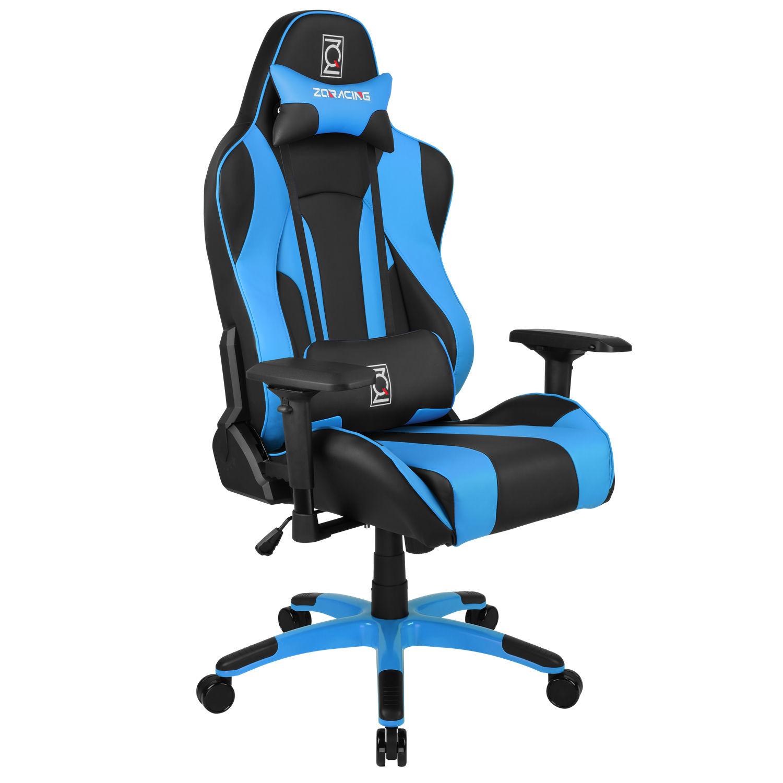 ZQRacing Hyper Sport Series Gaming fice Chair Black Blue ZQRacing