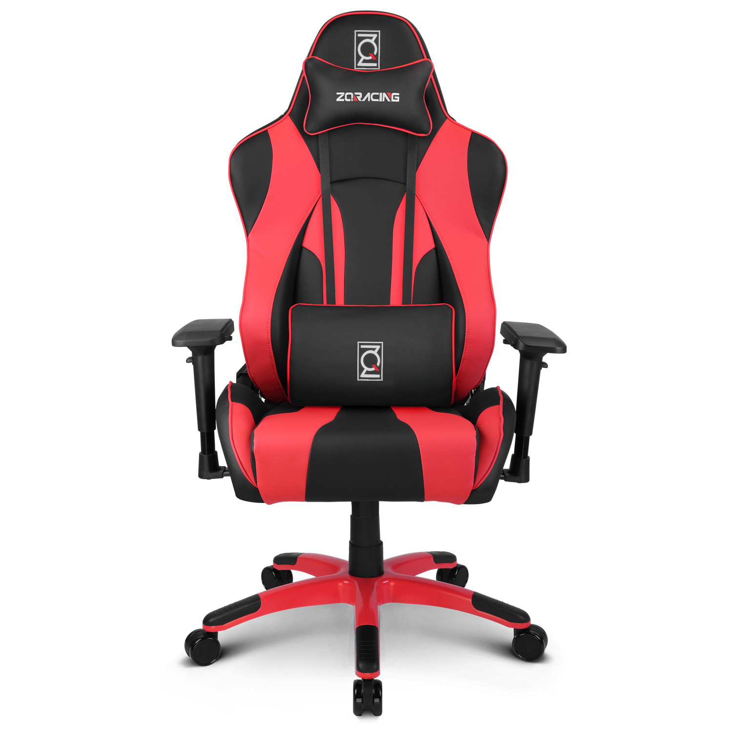 zqracing hyper sport series gaming office chair black red zqracing