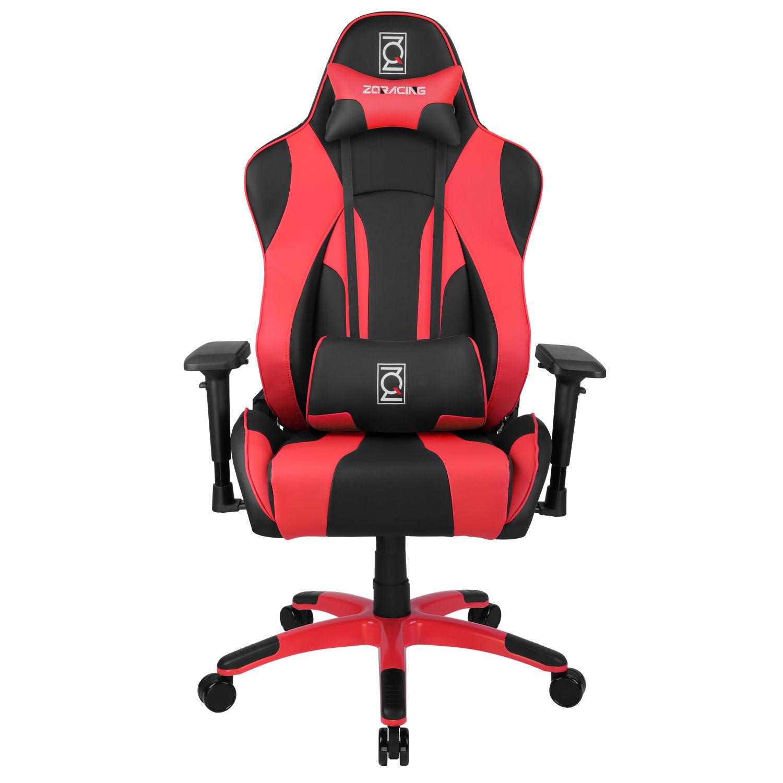 ZQRacing Hyper Sport Series Gaming fice Chair Black Red [ETA 15