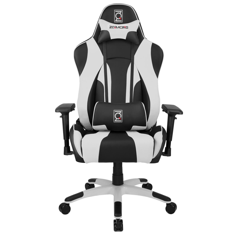 ZQRacing Hyper Sport Series Gaming fice Chair Black White ZQRacing