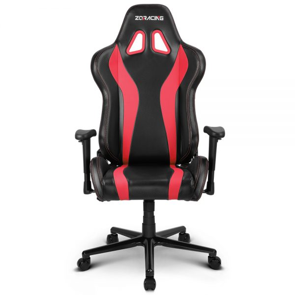 V6_RACER - RED - FRONT(No Pillows)