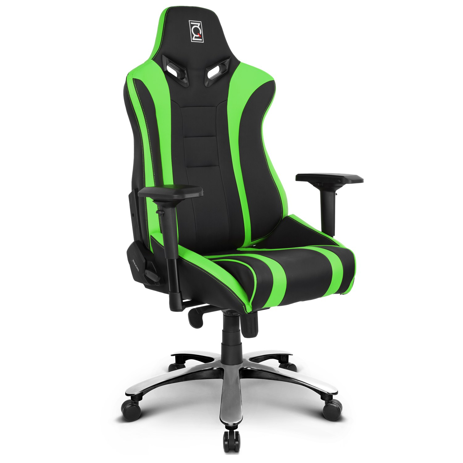 zqracing alien xl series gaming office chair green black zqracing