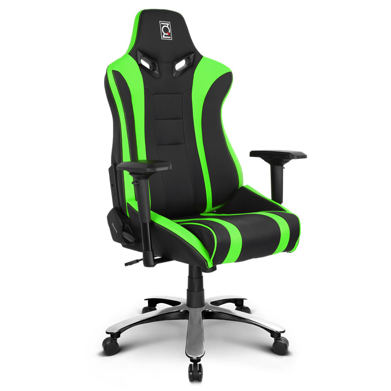 Zqracing Alien Xl Series Gaming Office Chair Green Black