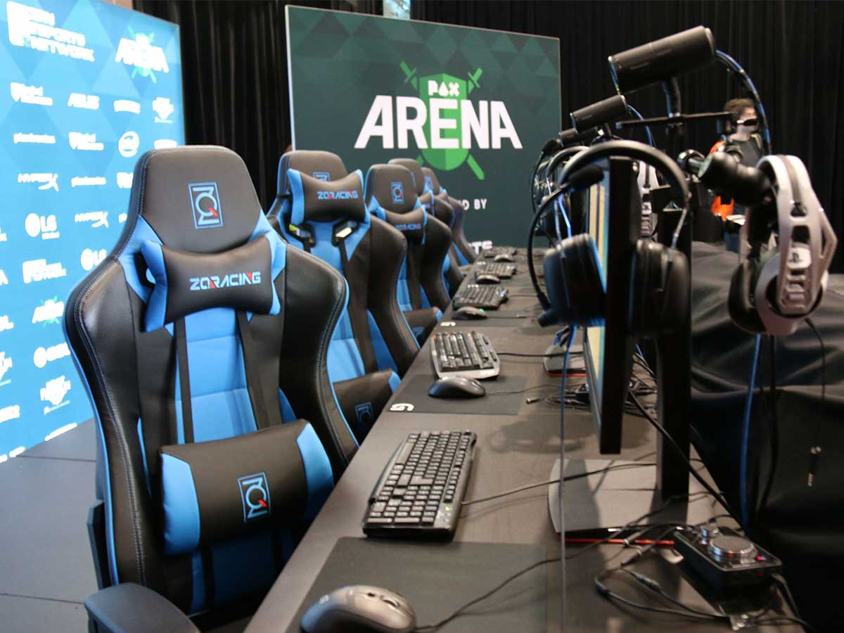 We went to Pax Australia 2016! | ZQRacing Gaming Chairs