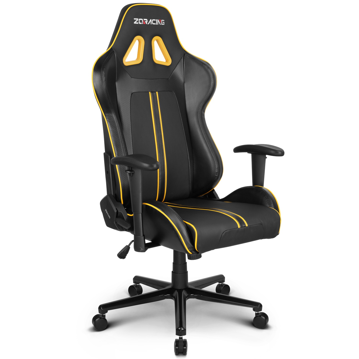Zqracing League Series Gaming Office Chair Yellow Black