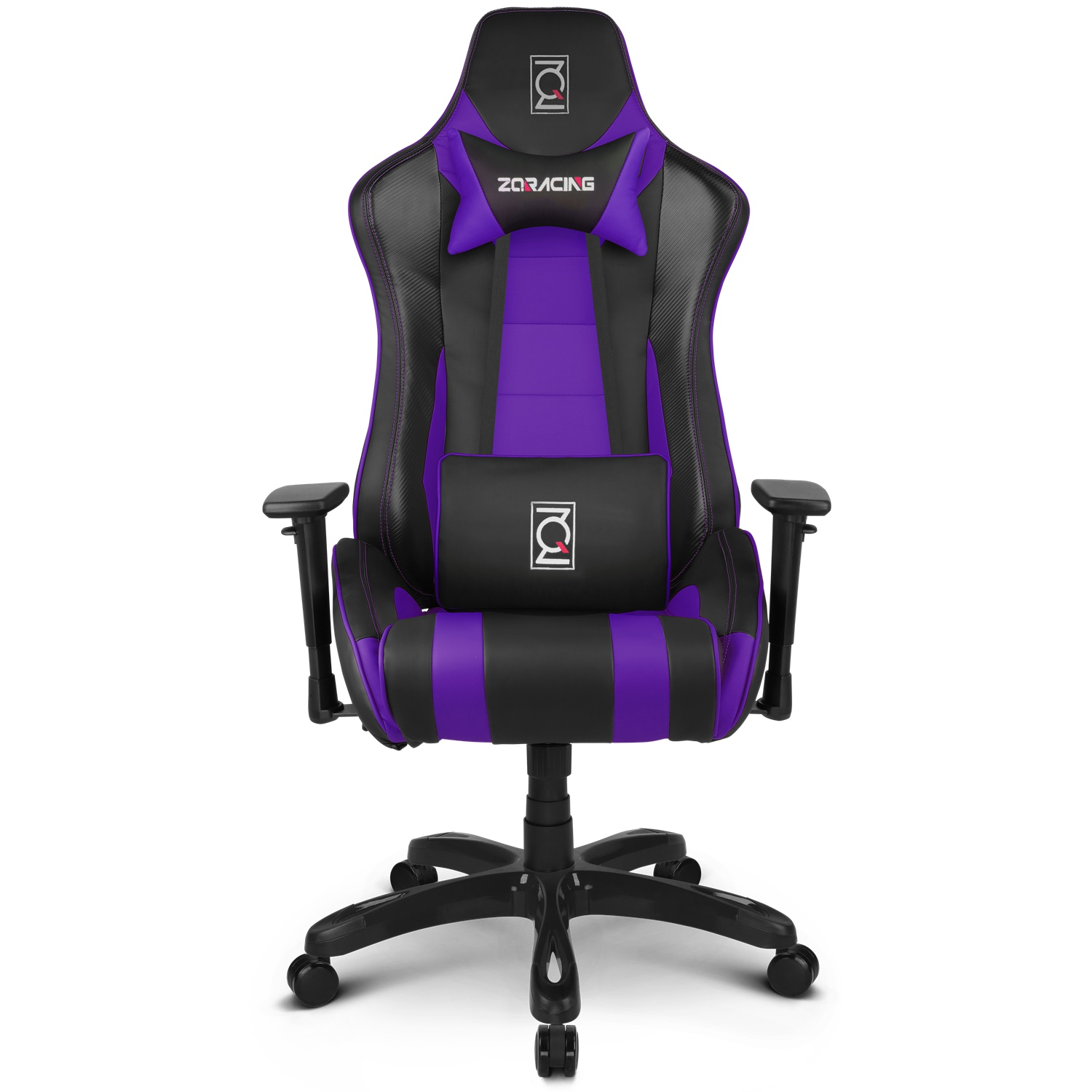 Zqracing Alien Series Gaming Office Chair Black Purple