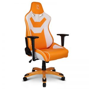 ZQRacing Viper Series Gaming Office Chair Orange/White