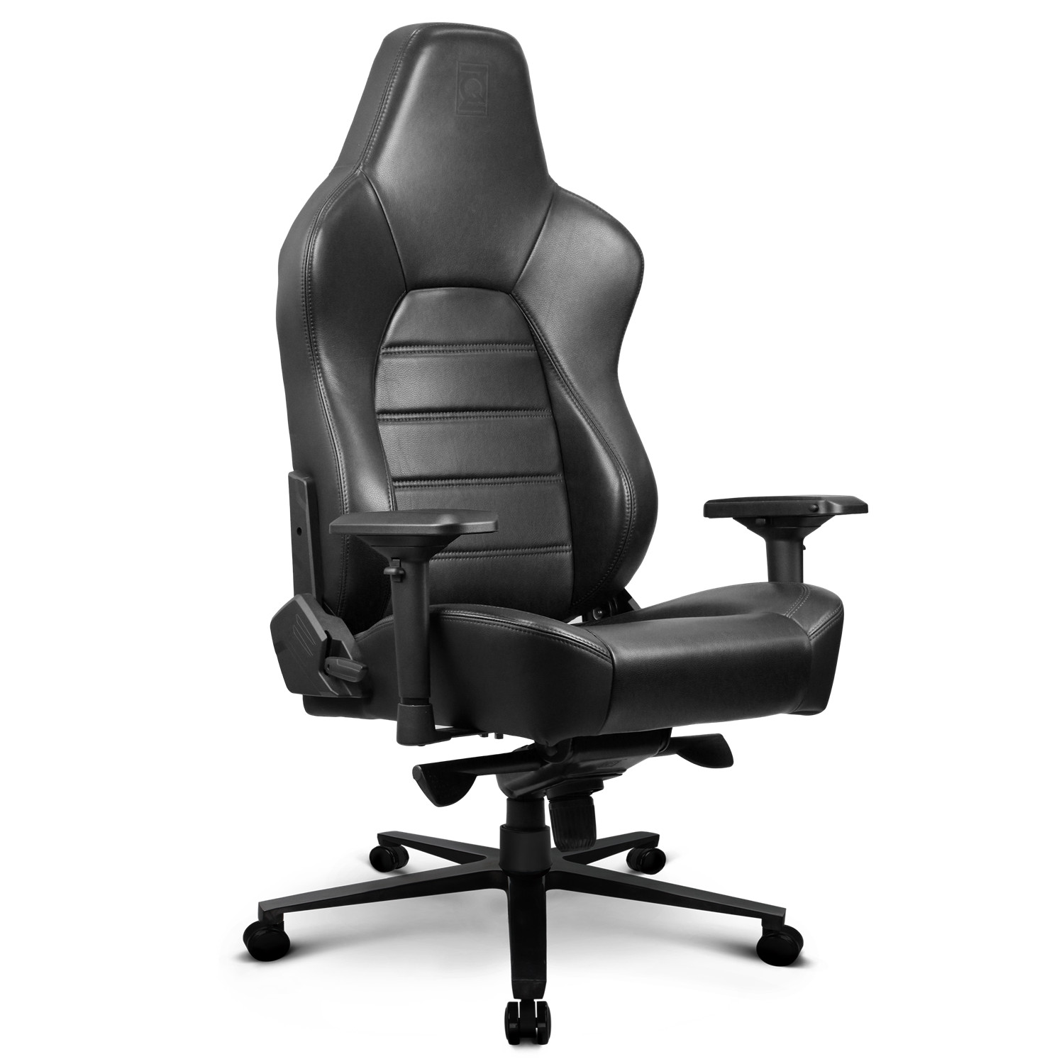 Picture of: Zqracing Hyper Luxury Real Leather Gaming Office Chair Black Zqracing